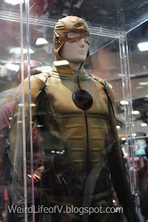 Reverse Flash costume display
