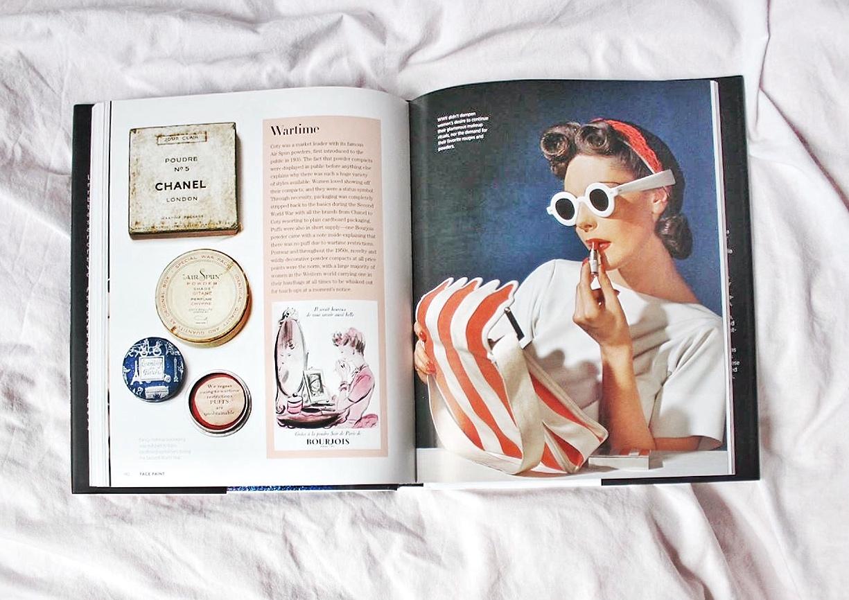 Face Paint The stiry of Makeup Lisa Eldrige, книга от истории макияжа Лизы Элдридж, винтажные рекламные кампании revlon max factor chanel