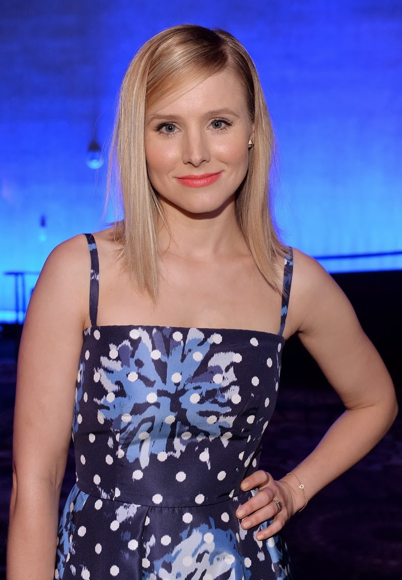 Kristen Bell Flaunts Post Baby Body In A Prada Dress At