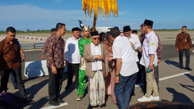 Masyarakat Sumbar Tak Mudah Digoyahkan, Kedatangan Ma'ruf Amin Tak Akan Gerus Suara Prabowo