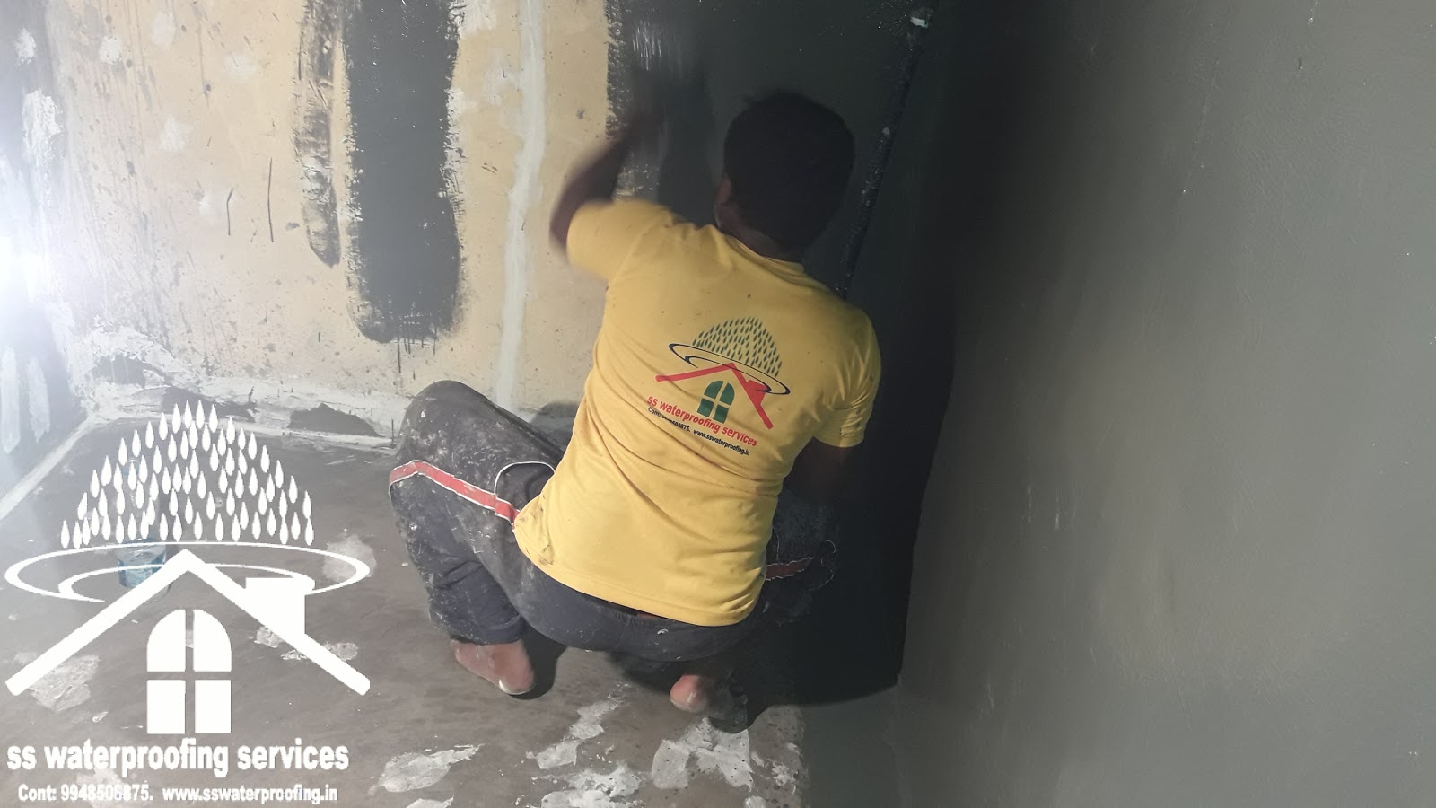 water sump waterproofing