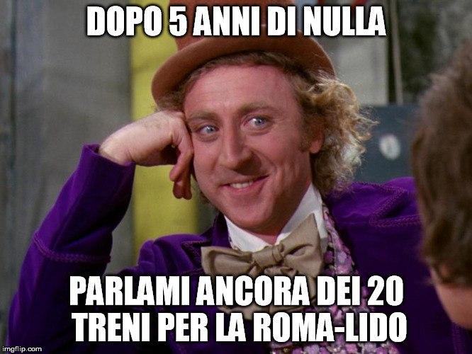 La Roma-Lido può attendere...