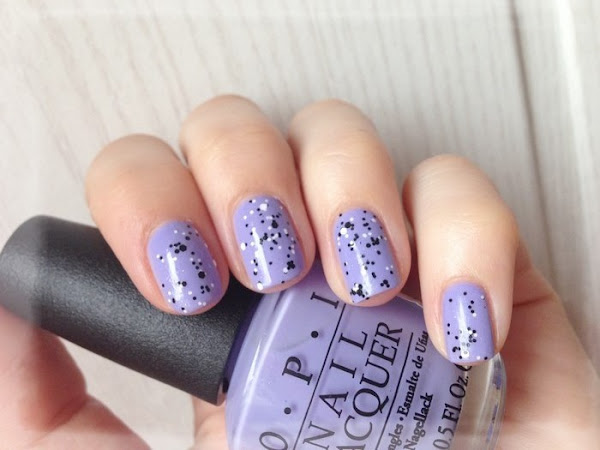 OPI - YOU'RE SUCH A BUDAPEST & CONFETTIS
