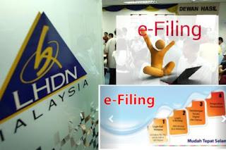 Cara Isi eFiling LHDN 2017 - Panduan 2018