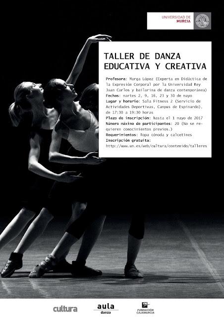 Taller de danza educativa y creativa.