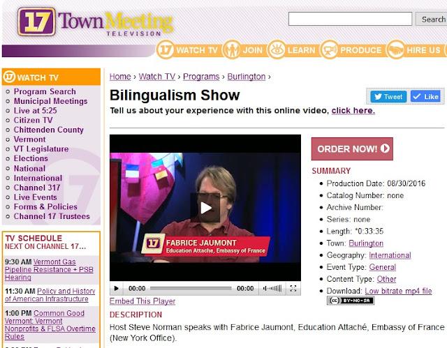Bilingualism Show