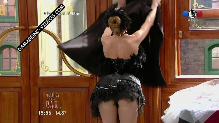 Virginia Gallardo big booty in black thong damageinc videos HD