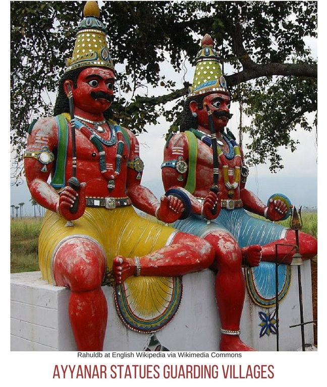 Ayyanar statue guards village