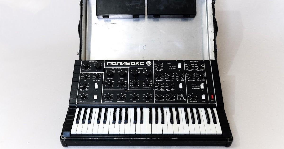 POLIVOKS Soviet Analog Synthesizer w/ MIDI Mod