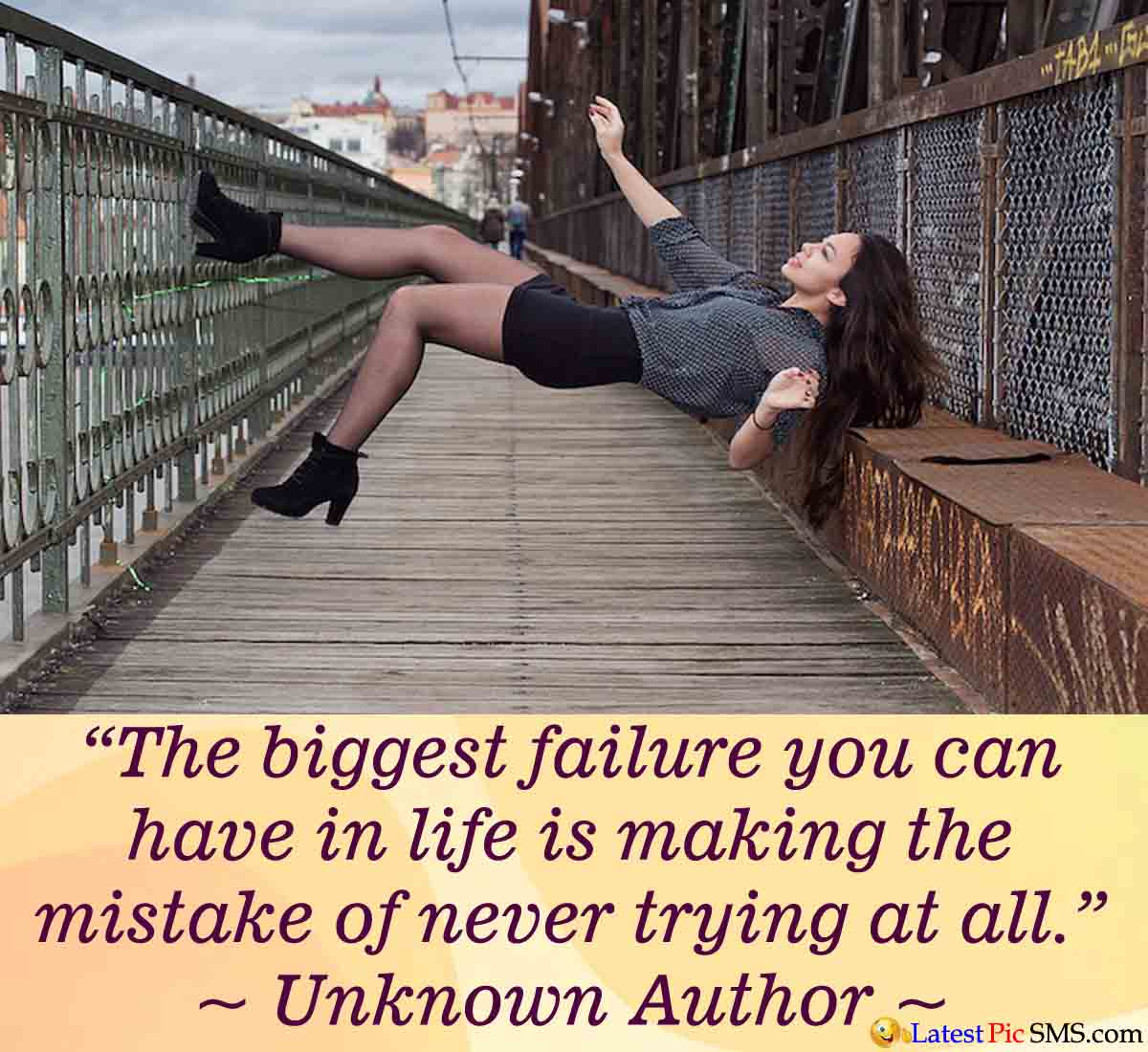 failure life quote - Thoughts on Life Images for Whatsapp and Facebook
