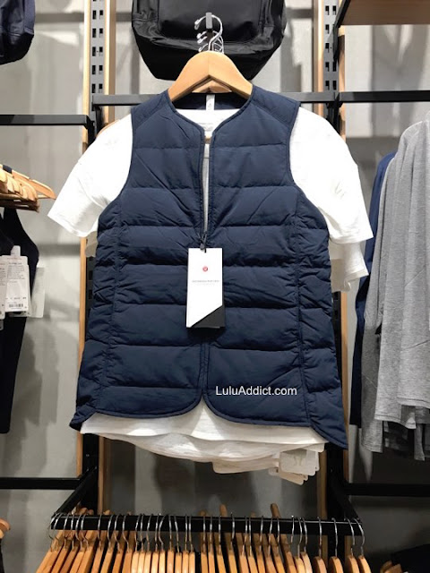 lululemon just-enough-puff-vest
