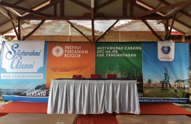 RM Kidang Mas, Sentra Sea Food, Pantai Barat Pangandaran. Tempat dilaksanakannya Musyawarah Pembentukan DPC HA IPB Kabupaten Pangandaran