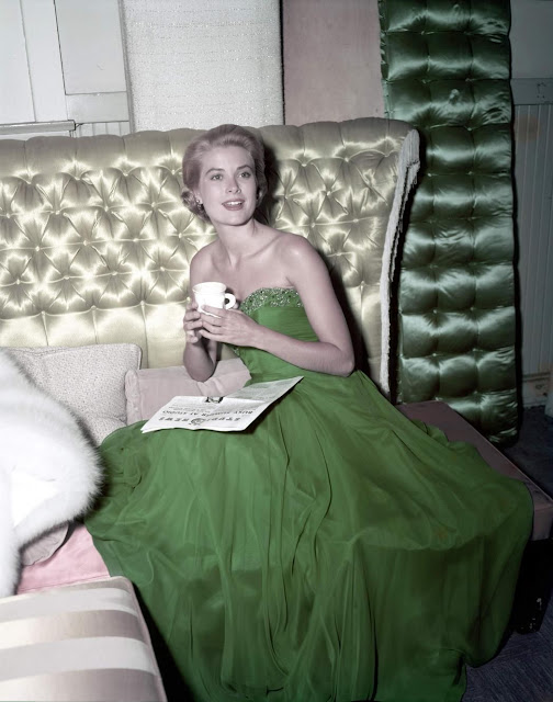 St. Patrick's Day 1954 Grace Kelly {Cool Chic Style Fashion}