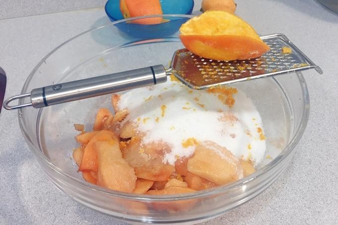 Mermelada de níspero con naranja