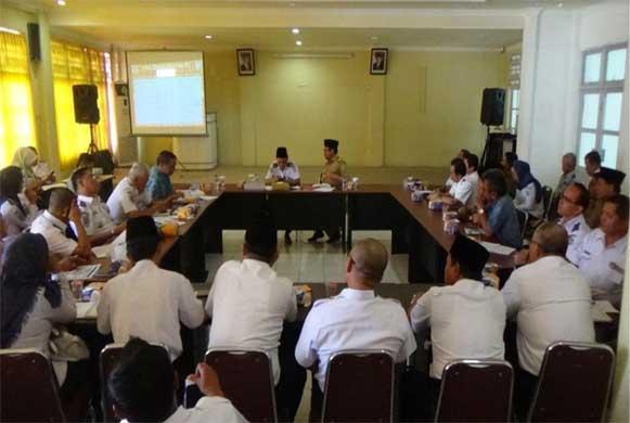 Bengkulu, DetikBengkulu.com, Dishub Provinsi Bengkulu Gelar Rakor Rencana Operasi Angkutan Lebaran 2017