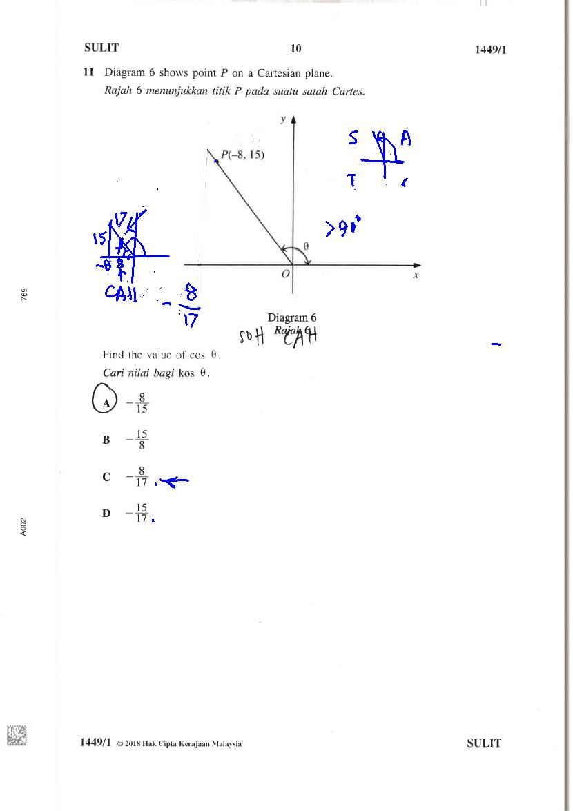 Cikgu Azman - Bukit Jalil: Kertas Soalan Matematik SPM
