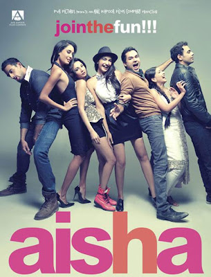 Poster Of Bollywood Movie Aisha (2010) 300MB Compressed Small Size Pc Movie Free Download worldfree4u.com