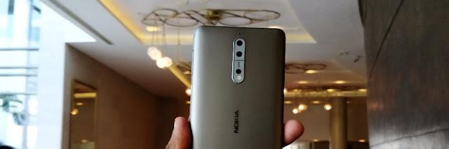 Nokia 8 : dual camera set up