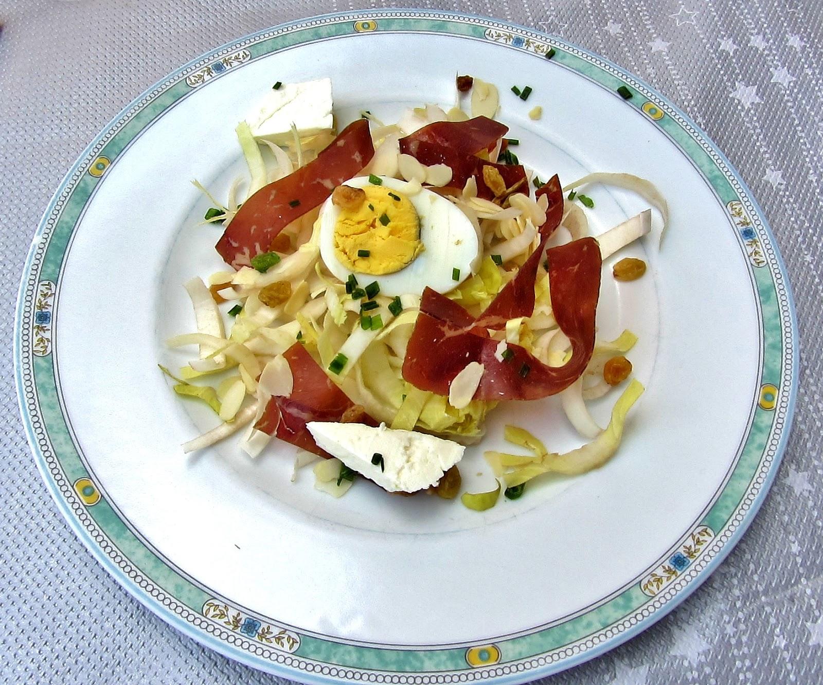 les recettes de babeth salade d endives la viande des
