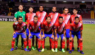 Costa Rica Team Squad FIFA 2018
