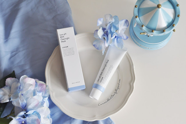 COSRX Low pH BHA Overnight Mask Review