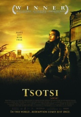 "Carátula del DVD: ""Tsotsi"""