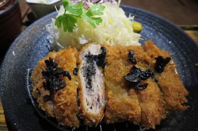 Tonkatsu by Ma Maison, truffle mille feuille katsu
