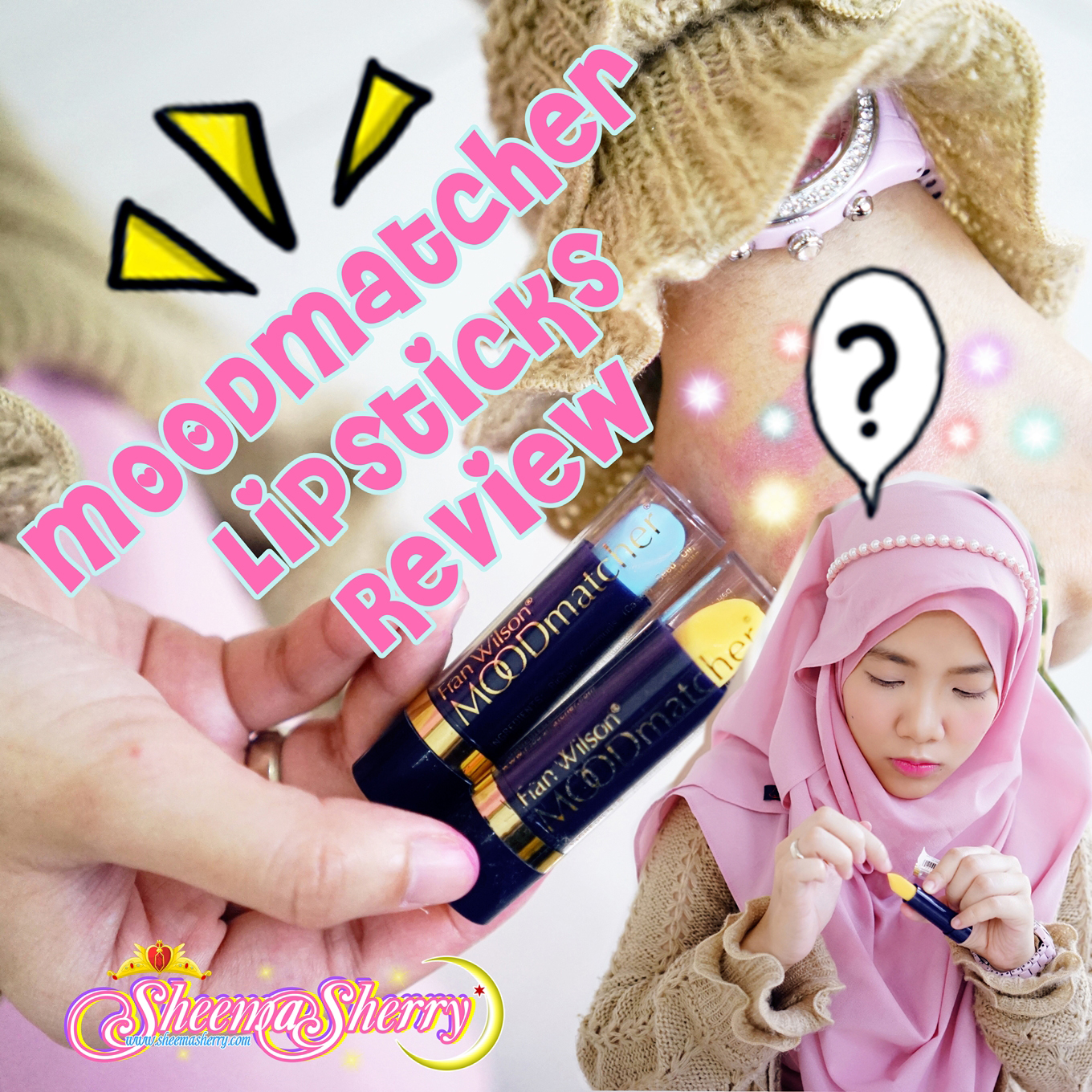 [REVIEW] Fran Wilson MOODmatcher® Lipsticks ??? My NEW MOOD BOOSTERS! USA America Kawaii Hijabi Sheema Sherry Muslim Islam Beauty Japan Makeup