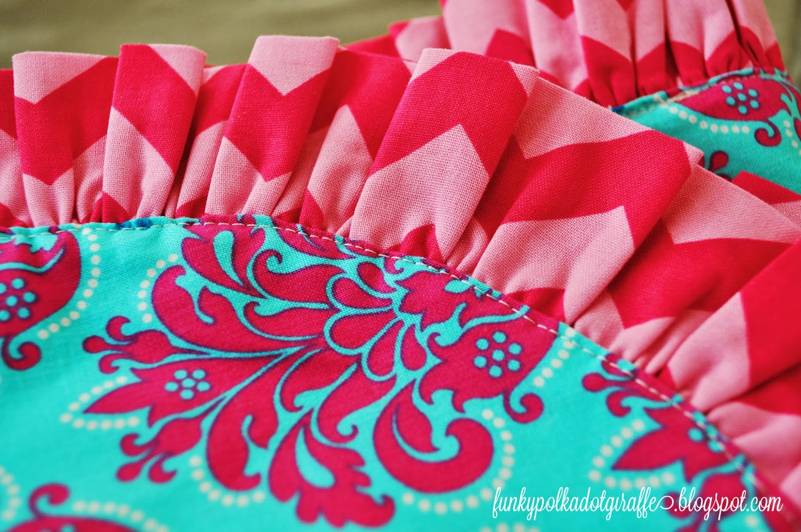 ruffled car seat canopy