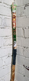 Goddess Brigid Staff from MoonsCrafts