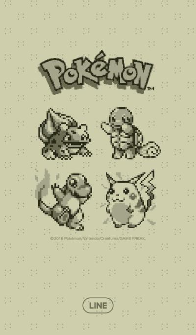 Pokémon ลายพิกเซล