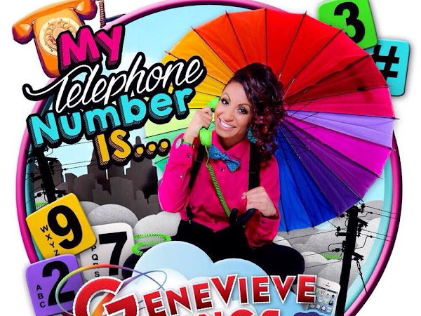 'My Telephone Number is...' {The New Single from Disney Junior's Genevieve Goings}