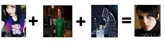 """""""La suma de un emo, un hacker y Sheldon Cooper da como resultado al personaje Lisbeth Salander de Millenium"""""""