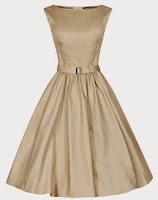 Lindy Bop 'Audrey' Hepburn Style Vintage 1950's Pastel Rockabilly Swing Dress