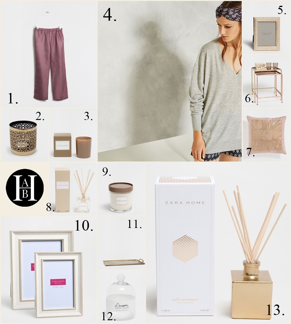 Candles, HomeWear & Accessoires - Collage