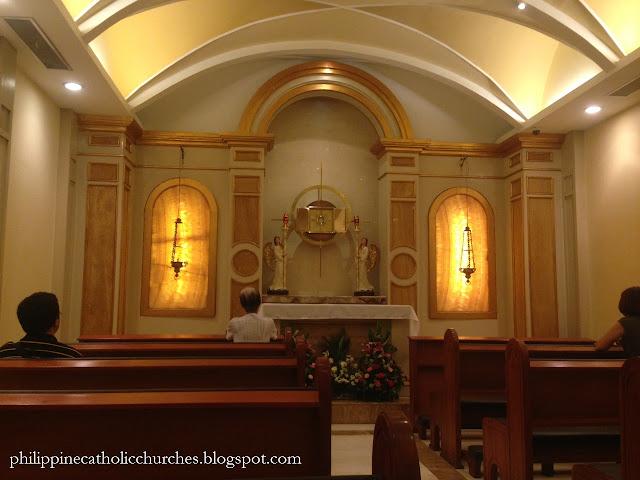 MARY, MOTHER OF HOPE CHAPEL, The Landmark, Makati City, Philippines