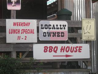 Locally Owned Barbecue