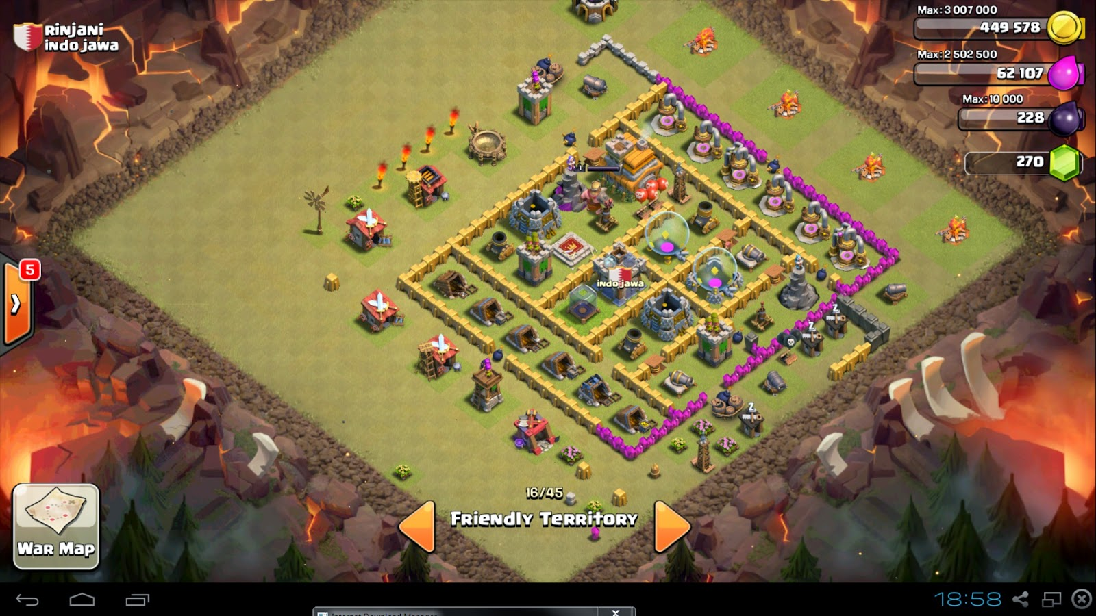 base town hall 7 clash of clans
