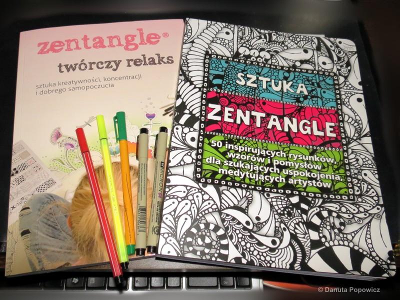 Książki  Zentangle