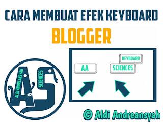 Efek Keyboard Blog