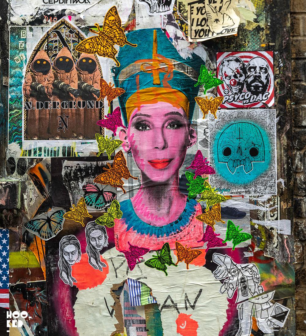 Shoreditch Street Art Paste-Ups Edition 2 - Buxton Street