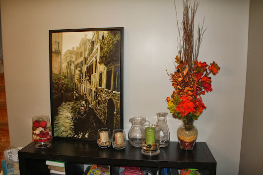 "7 Days of Fall Decor: Day 4 - Fall ""Floral"" Arrangements"