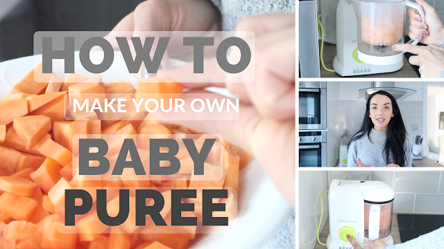 How to make your own baby puree DIY baby food uk lifestyle and parenting blogger maisy meow