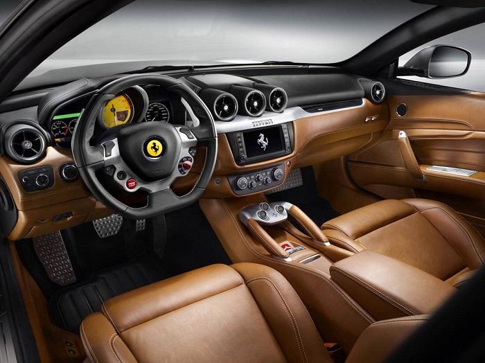 Ferrari Suv Interior , Detroit Auto Show