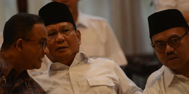 Gerindra Radar Cawapres Prabowo, Dari Habib Rizieq Sampai Tuan Guru Bajang