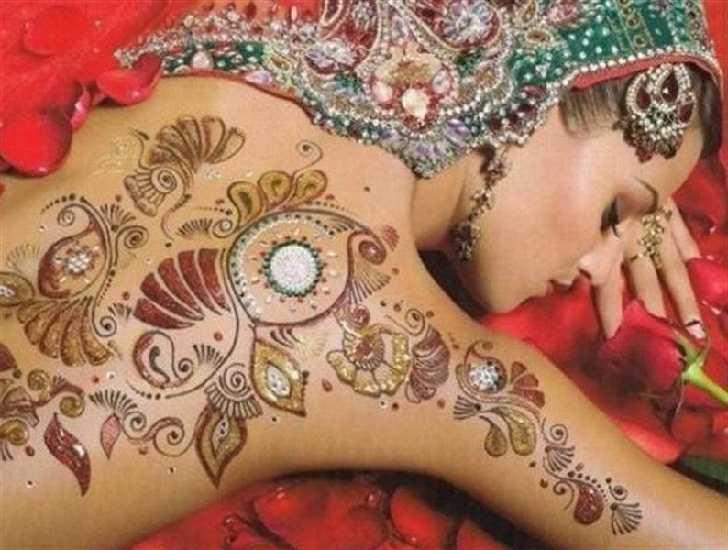 Desain Tatto Keren Cara Membuat Tattoo Henna