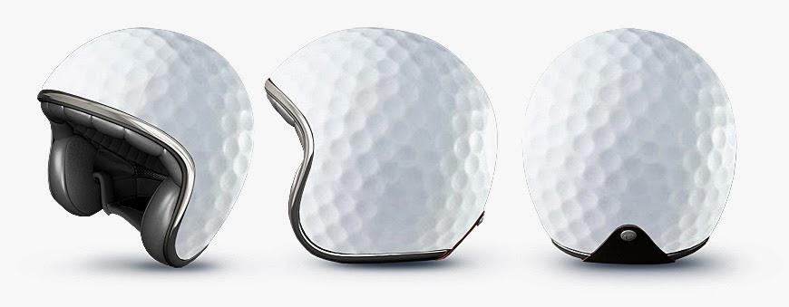 Helm Unik Bola Golf