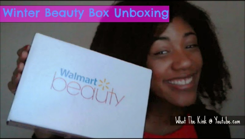 Video: Winter Walmart Beauty Box Unboxing
