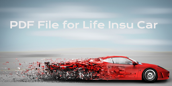 PDF File for Life Insu Car, Auto Insurance Quotes Online