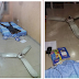 Final year UNIUYO student in lucky escape as ceiling fan falls off while asleep